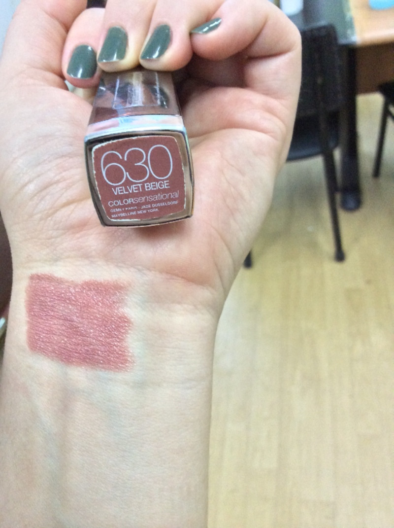 Maybelline Color Sensational 630 Velvet Beige Ruj Kullananlar Ve