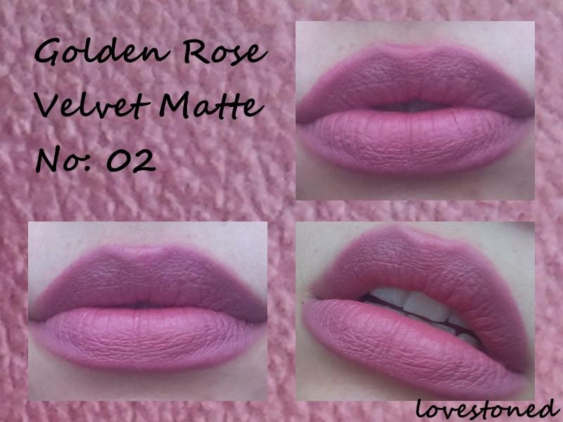 Golden Rose Velvet Matte 02 Ruj Kullananlar Ve Hakkında Yorumları