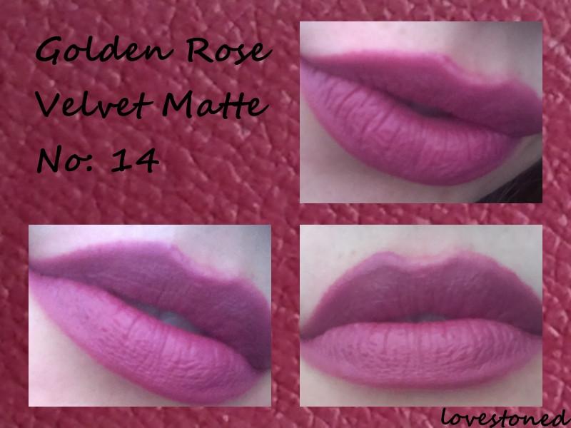Golden Rose Velvet Matte 14 Ruj Kullananlar Ve Hakkında Yorumları