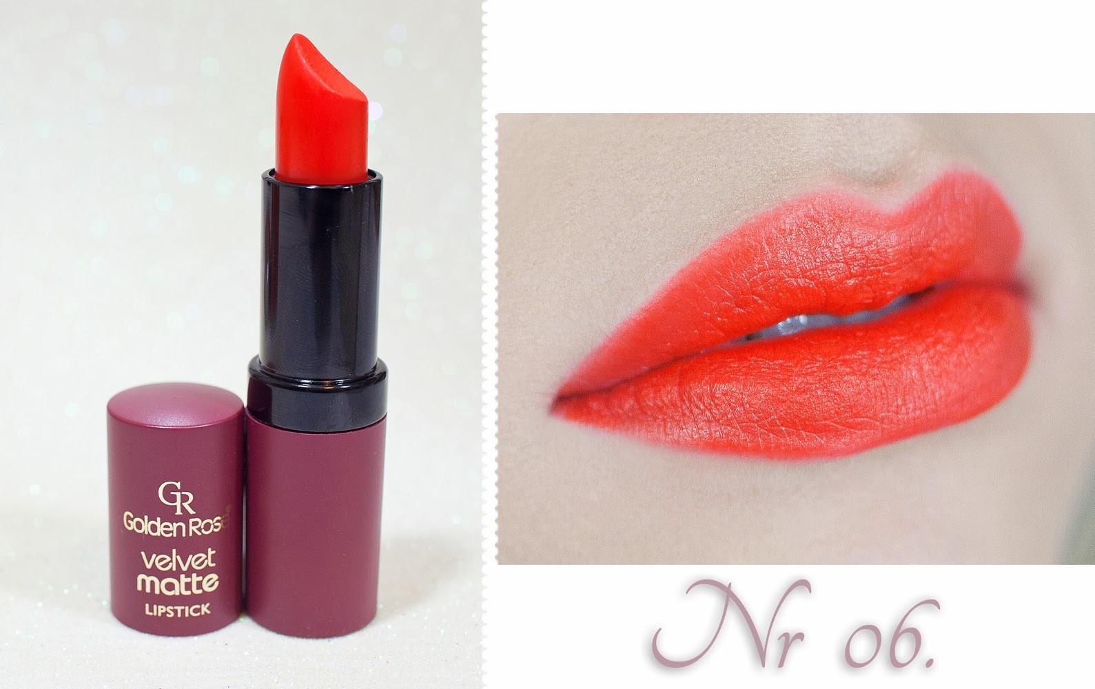 Golden Rose Velvet Matte Lipstick No 12 Lipstutorialorg