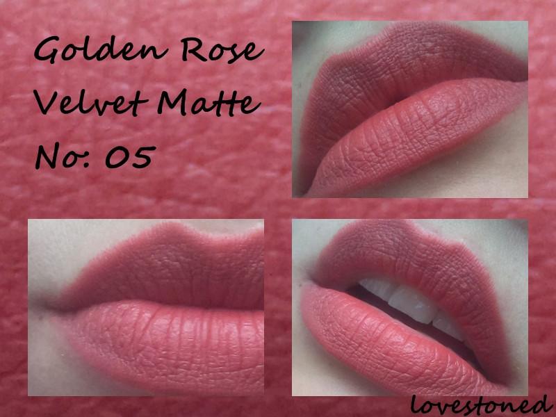 Golden Rose Velvet Matte 05 Ruj Kullananlar Ve Hakkında Yorumları