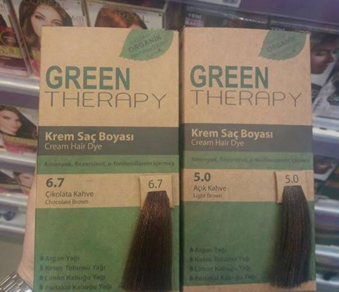 Green Therapy 7 3 Karamel Krem Sac Boyasi Fiyatlari Ozellikleri