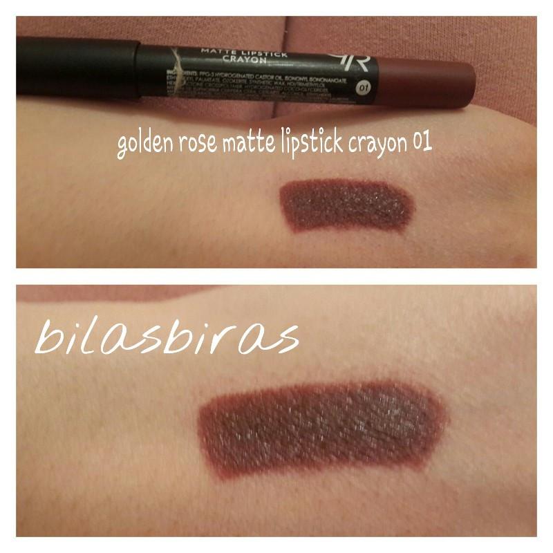 Golden Rose Matte Lipstick Crayon 01 Ruj Kullananlar Ve Hakkında