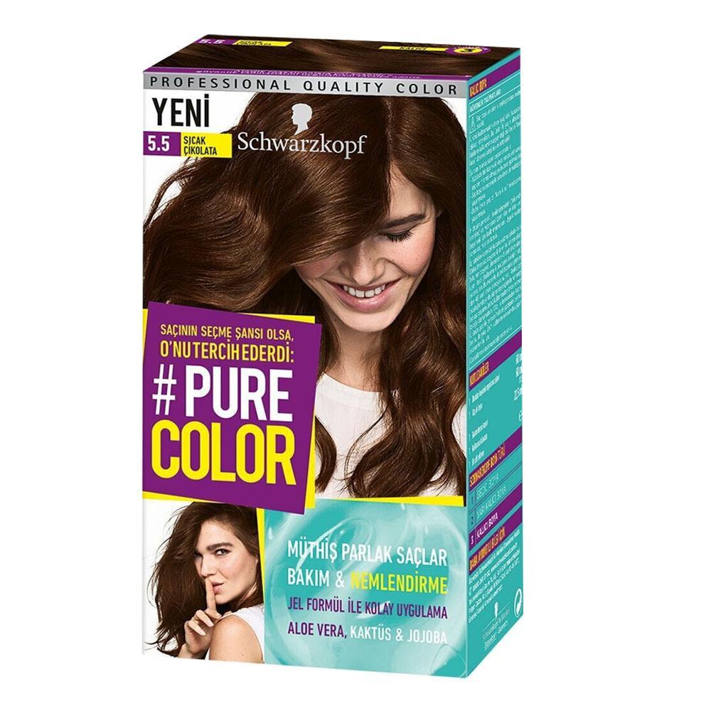 Schwarzkopf Pure Color Sac Boyasi Kullananlar Ve Hakkinda Yorumlari